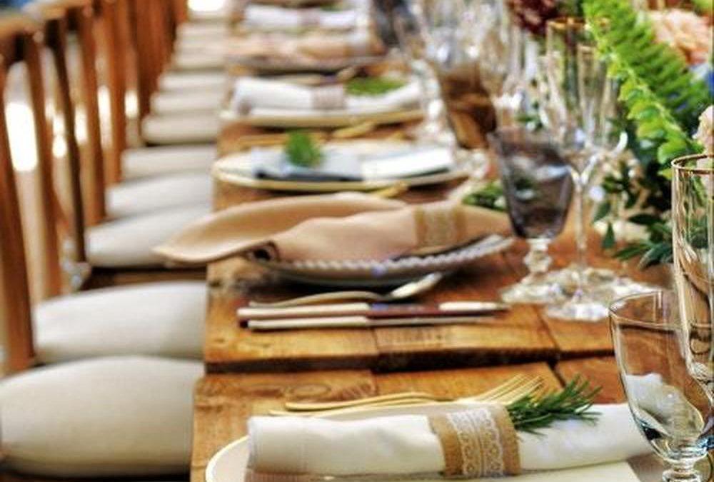 Et godt firmaarrangement kan afholdes på en restaurant